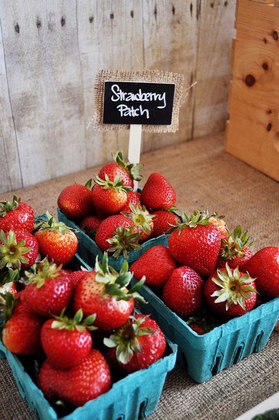 anniversaire fraise- barquettes fraises