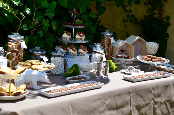 baby shower petit ours - sweet table