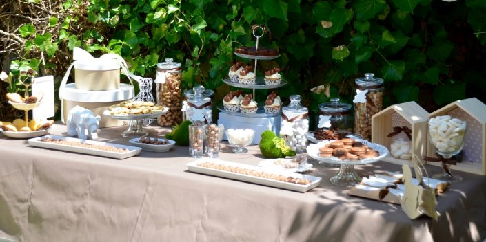 sweet table baby shower petit ours