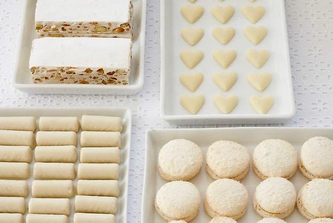 Mariage en blanc - Macarons
