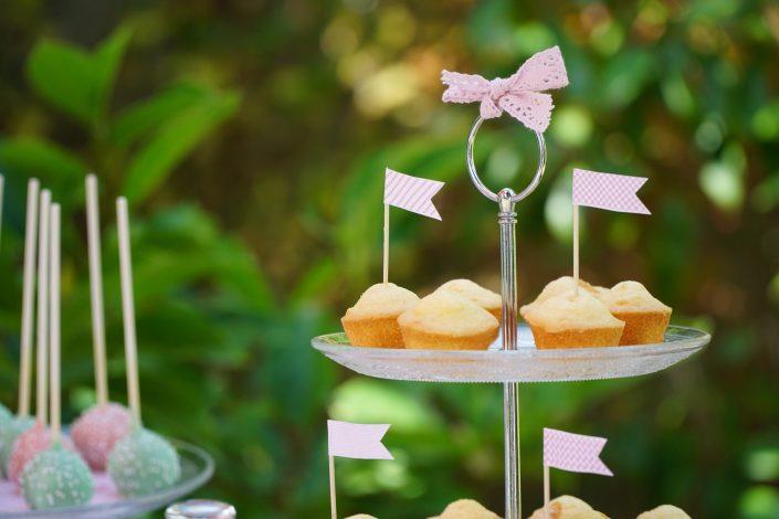 Anniversaire 1 an Chiara - Petits muffins au beurre