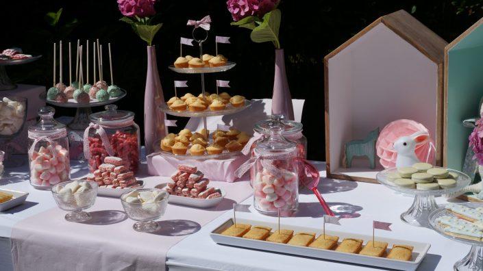 Anniversaire 1 an Chiara - sweet table