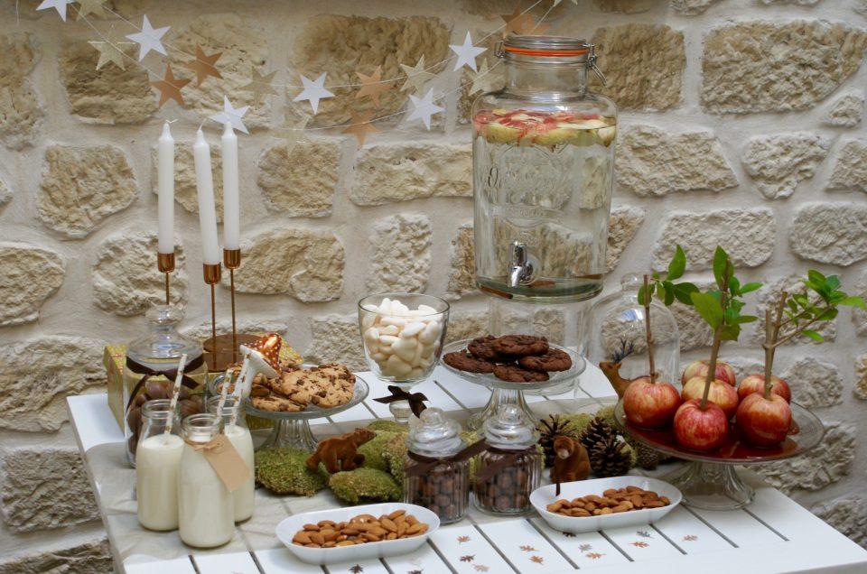 Mini Sweet Table automne pour Marmiton