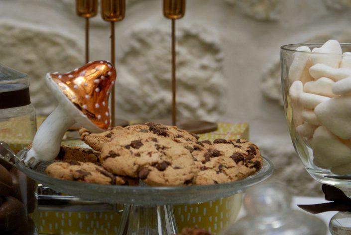Mini sweet table automne - cookies