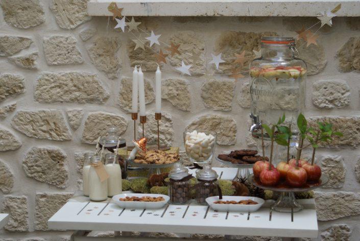 Mini sweet table automne