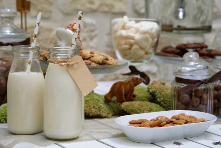 Mini sweet table automne - amandes