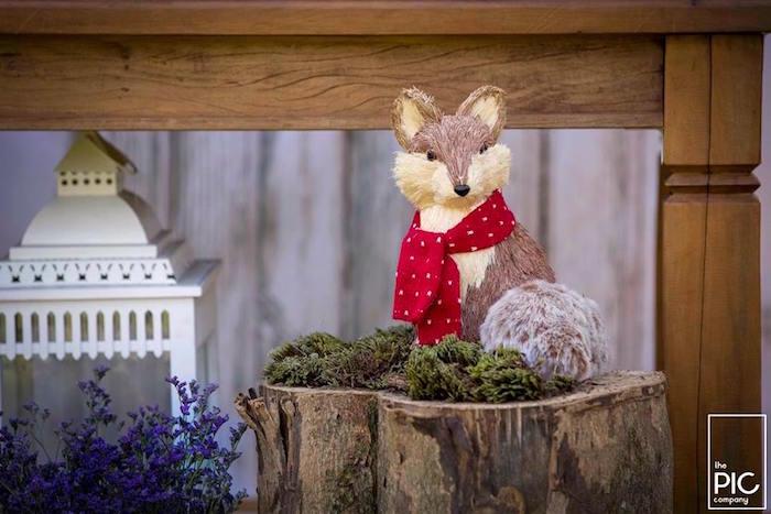 Dans les bois - Décoration renard