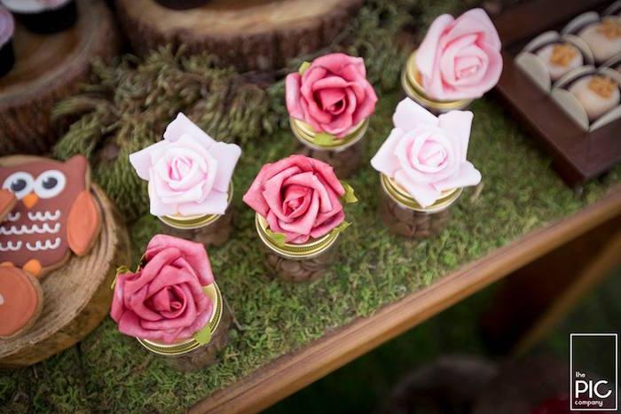 Dans les bois - Petites roses