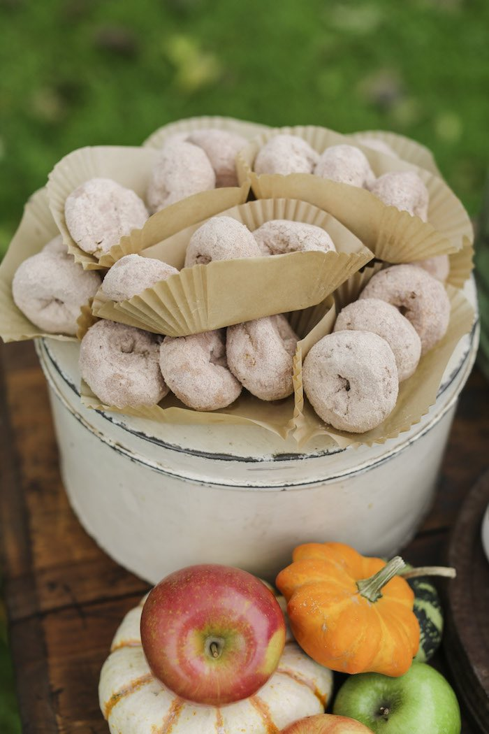 Goûter à la pomme - Beignets