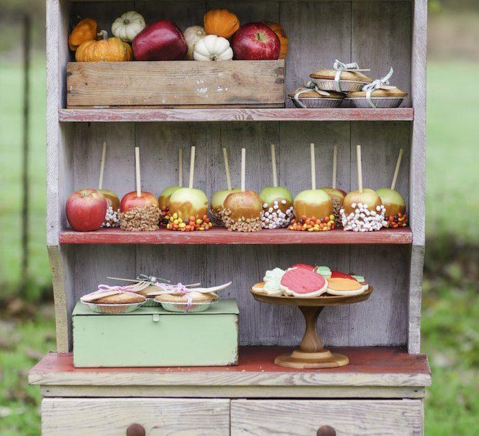 Goûter à la pomme
