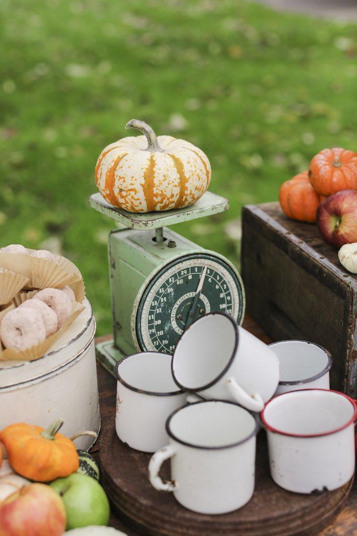 Goûter à la pomme - Sablés décorés