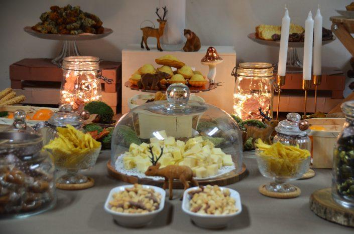 Table d'automne chez Pierre et Vacances par Studio Candy - Décoration de table