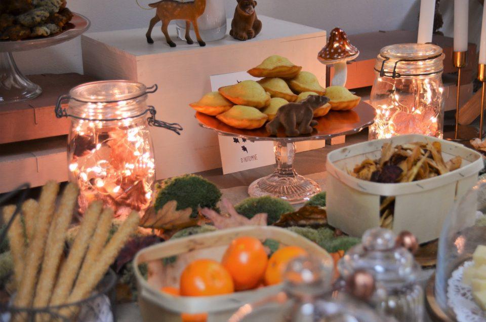 Table d'automne chez Pierre & Vacances