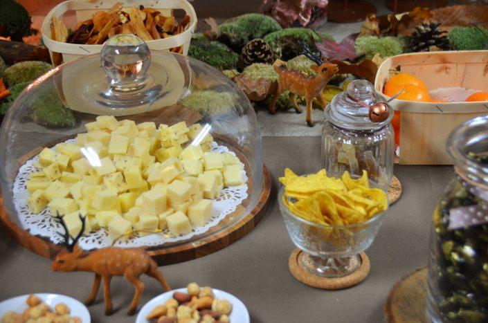 Table d'automne chez Pierre et Vacances par Studio Candy - Fromage