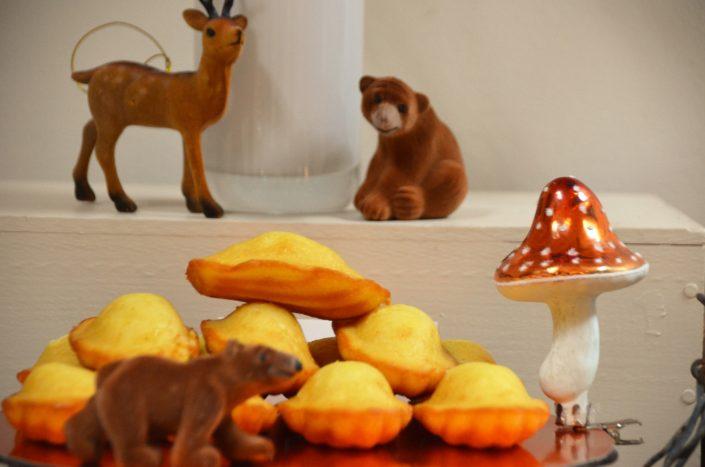 Table d'automne chez Pierre et Vacances par Studio Candy - Madeleines