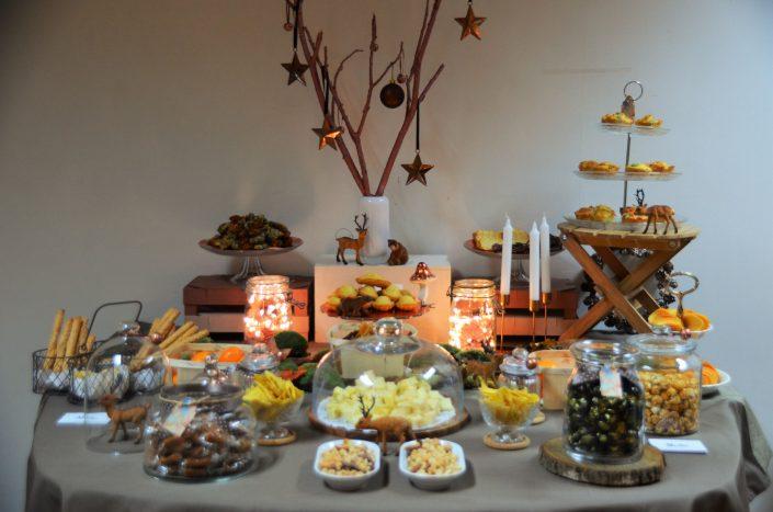 Table d'automne chez Pierre et Vacances par Studio Candy - Torsades