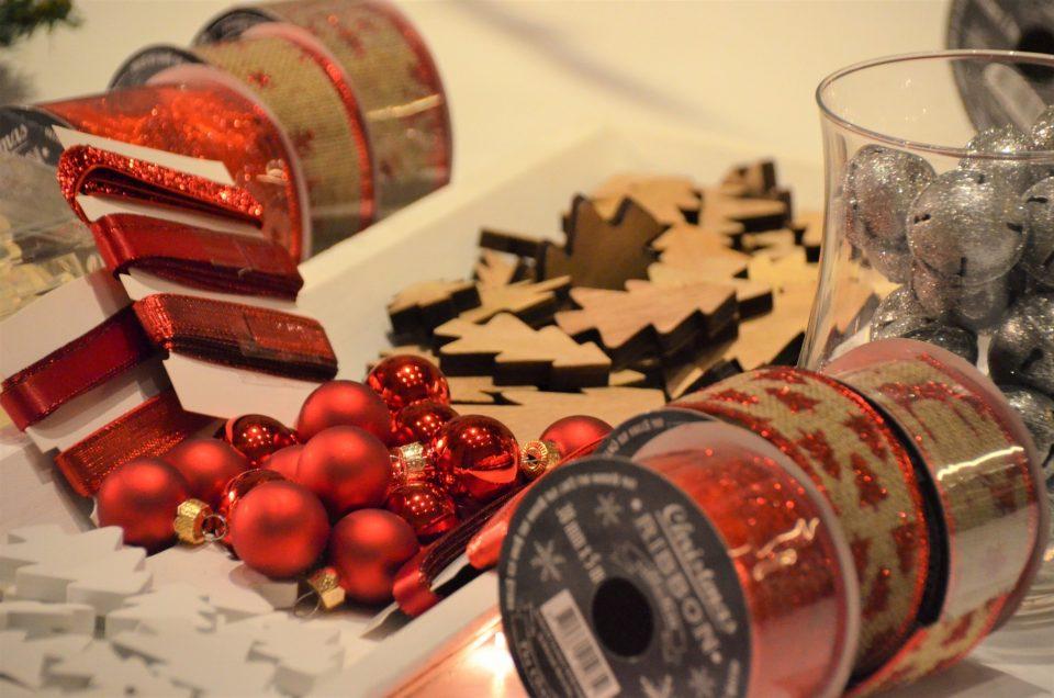 Atelier Couronnes de Noël chez Au Féminin