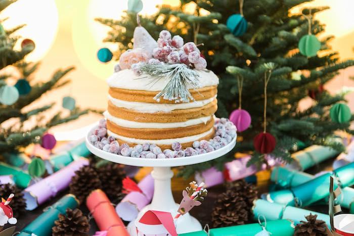 Atelier de Noël par Studio Candy - Gâteau givré