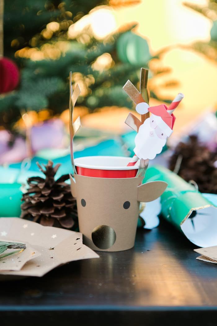 Atelier de Noël par Studio Candy - Gobelet enfant