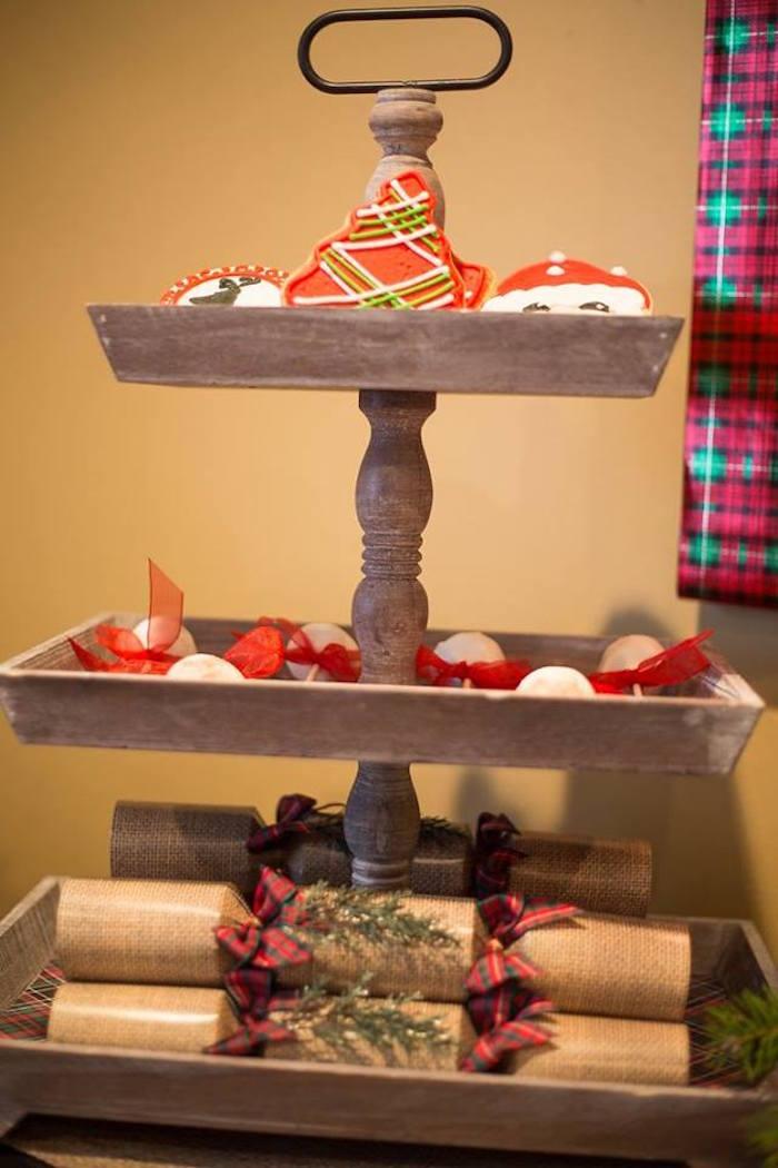 Sablés décorés Noël et crackers