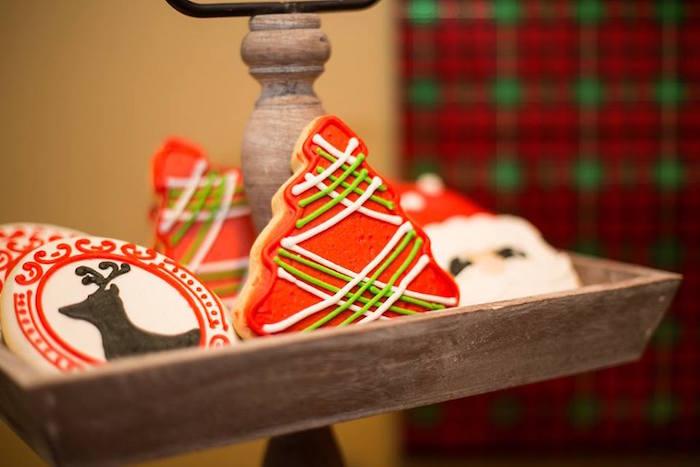 Sablés décorés Noël