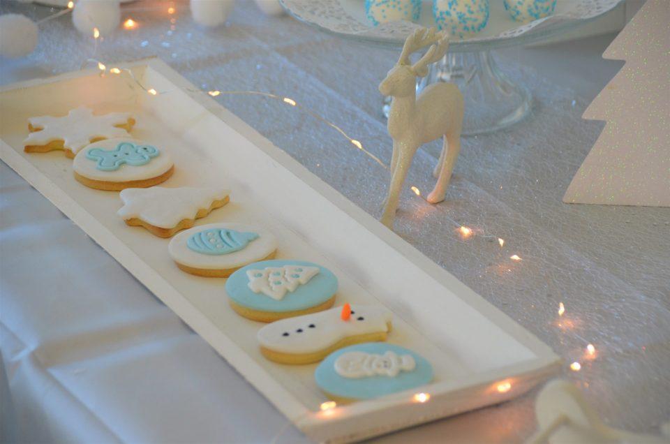 Sweet Table thème Hiver chez Pierre et Vacances