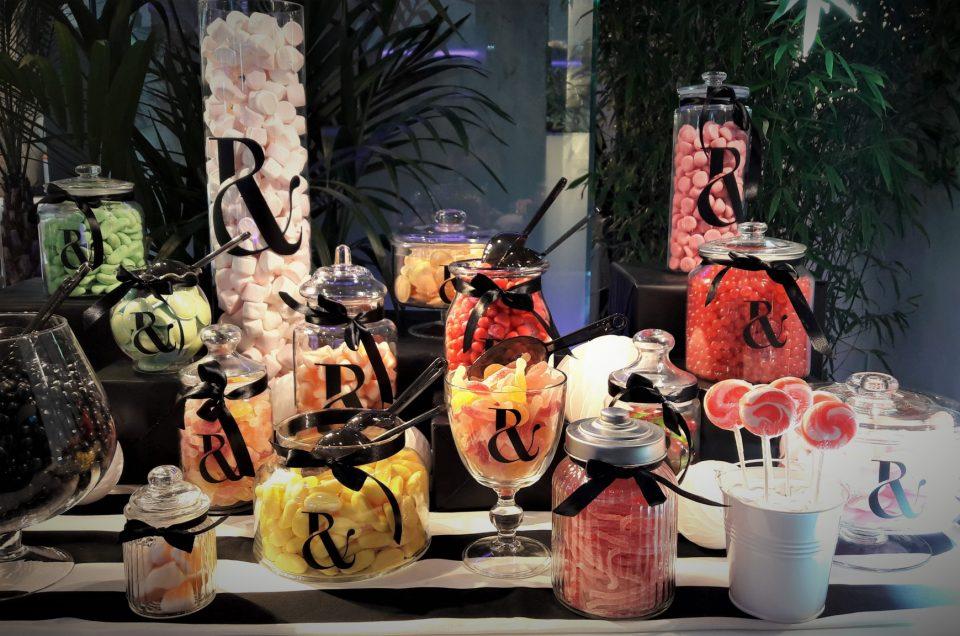 Candy Bar pour l'après défilé Haute Couture Ralph & Russo