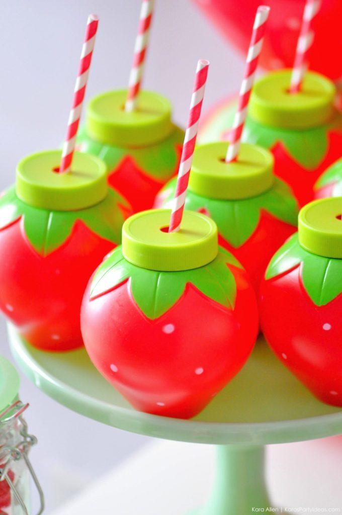Saint valentin à la fraise - Studio Candy - Boissons fraise