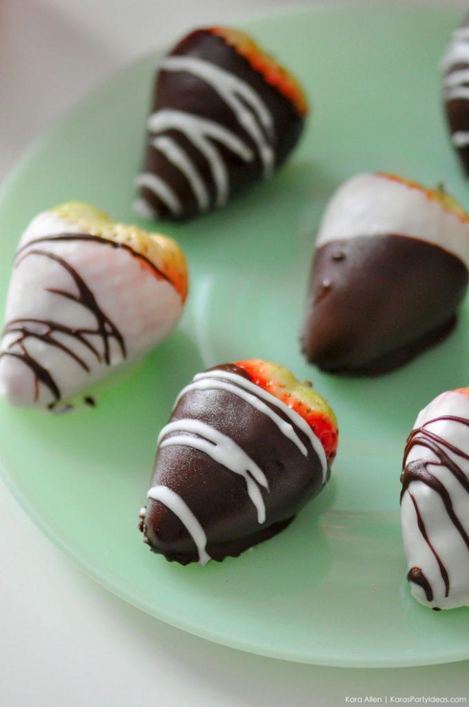 Saint valentin à la fraise - Studio Candy - Fraise et chocolat