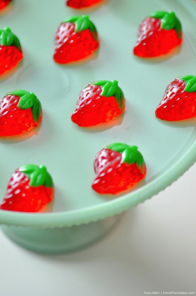 Saint valentin à la fraise - Studio Candy - Bonbons fraise