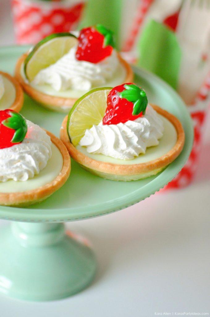 Saint valentin à la fraise - Studio Candy - Tartelettes au citron