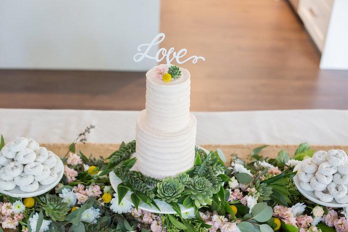 Brunch entre filles par Studio Candy - Gâteau blanc Love