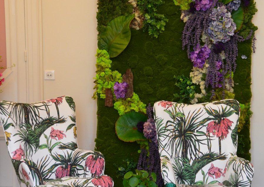 Atelier créatif green chez Au Féminin