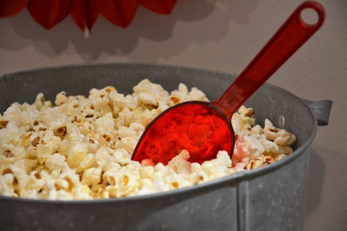 Candy Bar Circus / fête foraine pour Dulux Valentine - pop corn