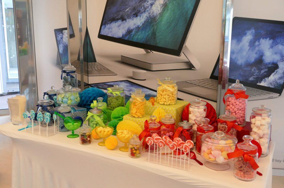Candy Bar coloré pour Microsoft