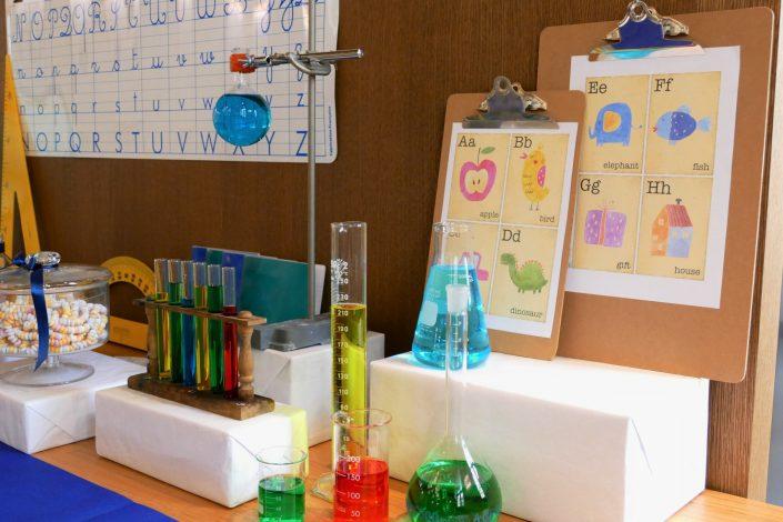 Sweet table back to school par Studio Candy pour Kering -