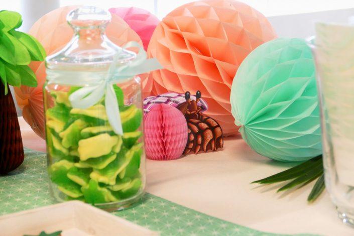 Bar à pâtisseries par Studio Candy pour L'Oréal - bonbons tortue