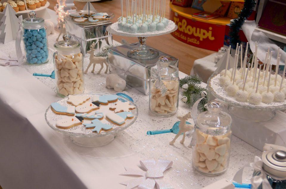 Bar à pâtisseries Noël pour Toys'R'Us – Soirée NRJ