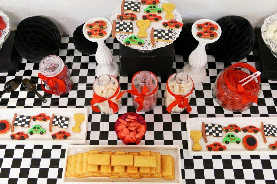 Candy Bar thème Rallye / course