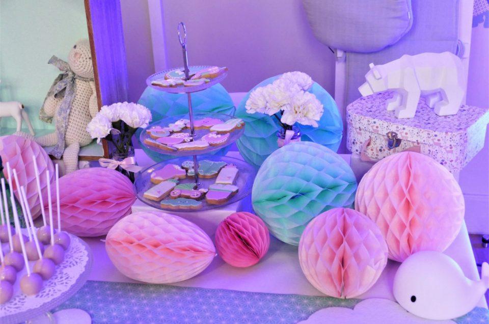 Sweet table pour l'événement influenceurs Hépar