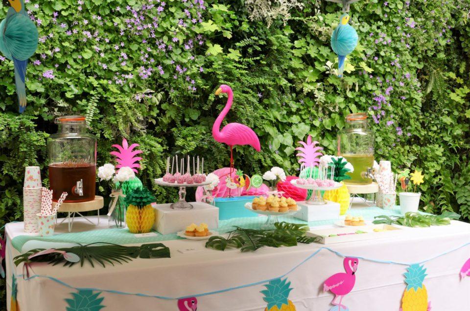Tropicool Party chez Estée Lauder