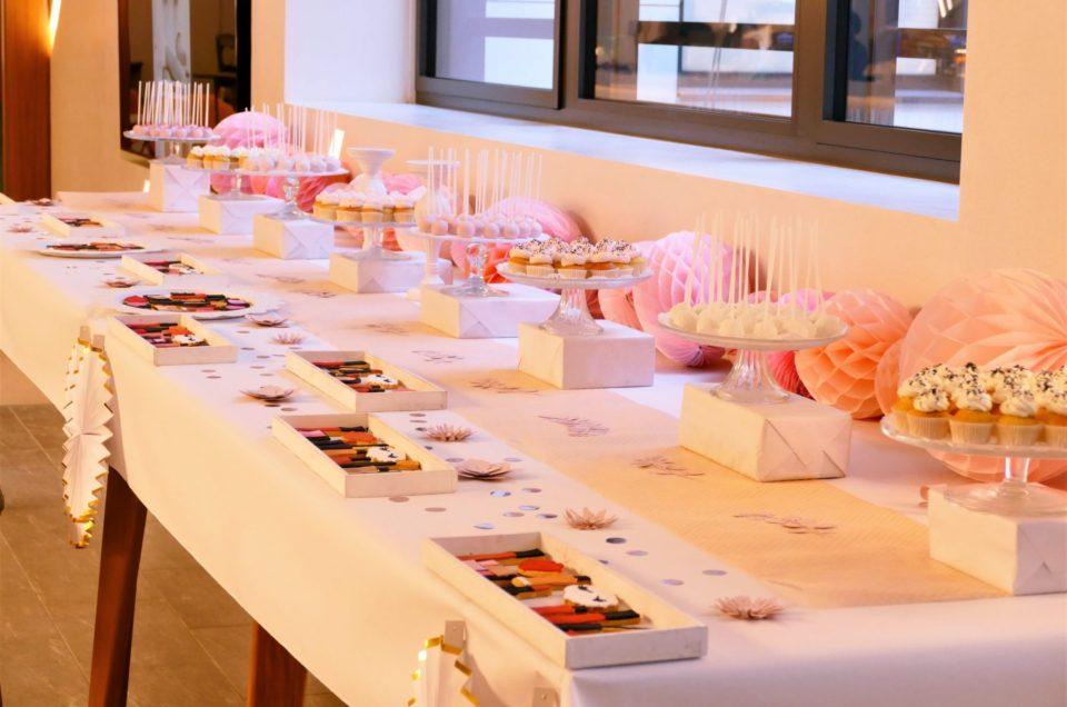 Bar à pâtisseries pour L'Oréal division Luxe