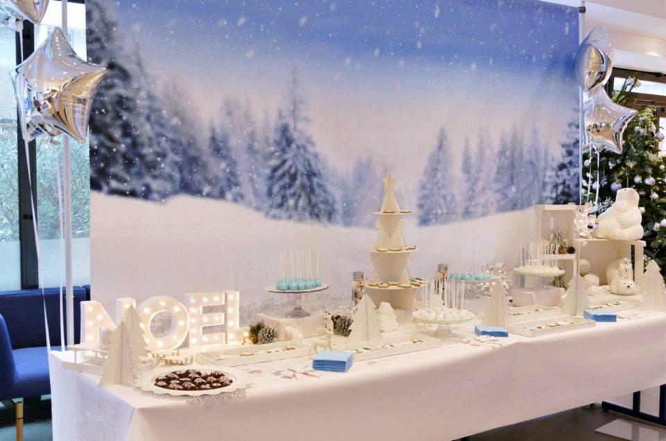 Goûter de Noël polaire chez Dentsu