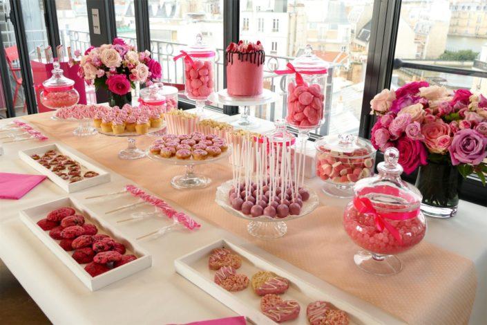 Sweet table / Tea time réalisé par Studio Candy pour Givenchy