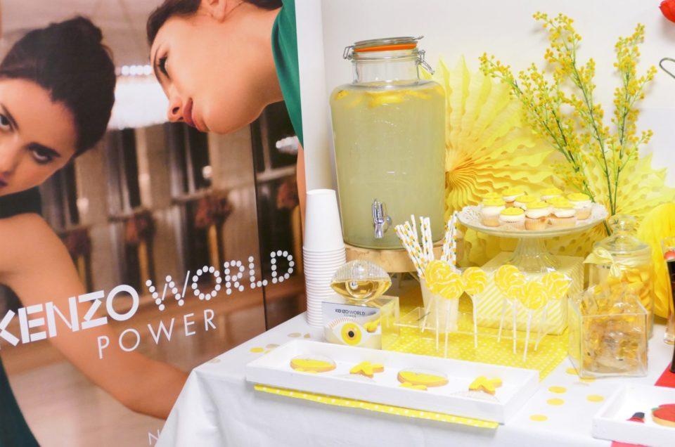 Lancement du parfum Kenzo World