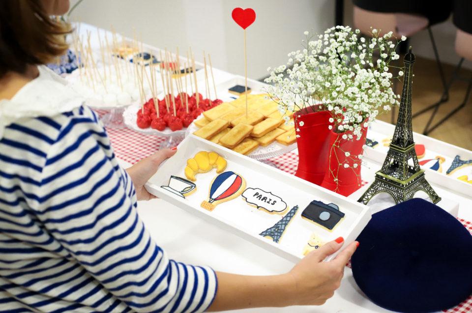 Petit déjeuner thème Paris chez L'Oréal