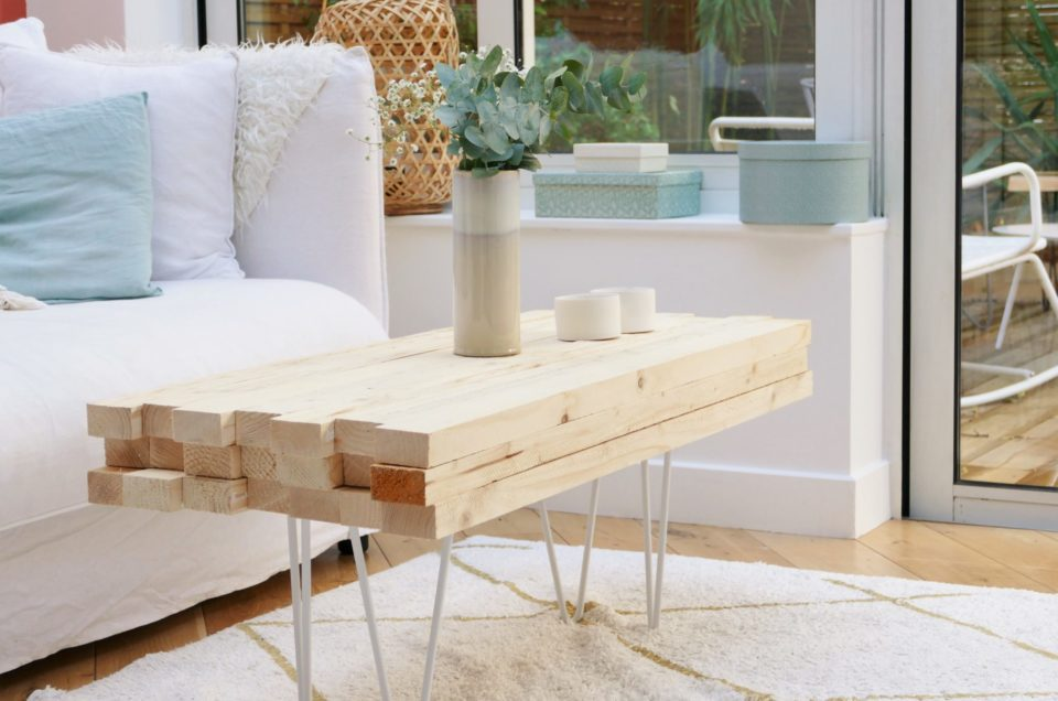 Tuto DIY Table basse hygge