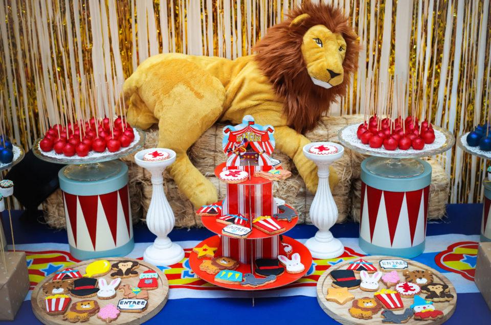 Family Day thème Cirque pour Salesforce