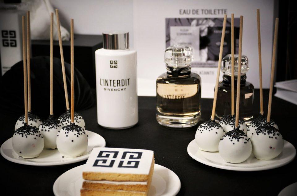 Givenchy make up et parfum L'Interdit