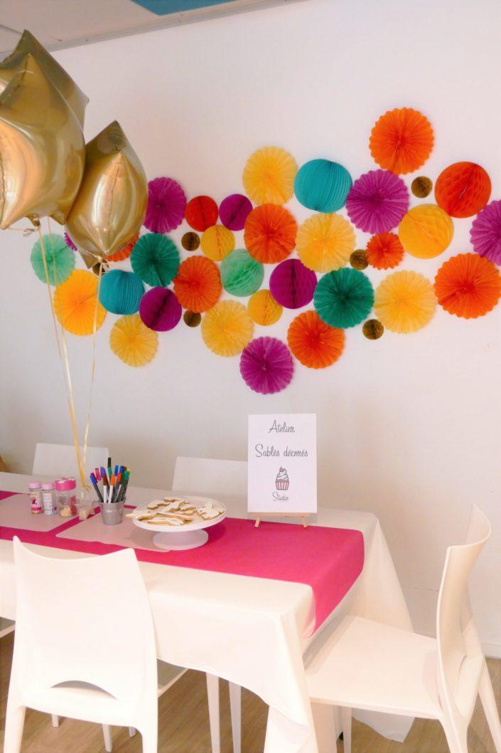 Family Day chez Idinvest par Studio Candy - atelier sablés décorés
